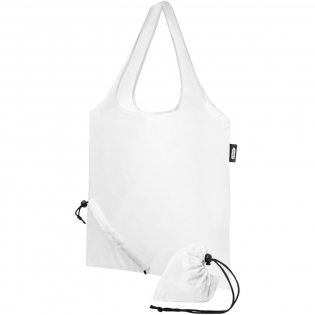Tote bag with open main compartment. Dropdown height of handles is 26 cm. Unique fold-away function with drawstring closure.