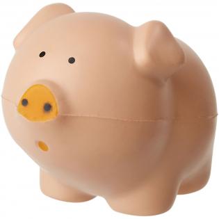 Een populair anti stress item in de vorm van een varken.