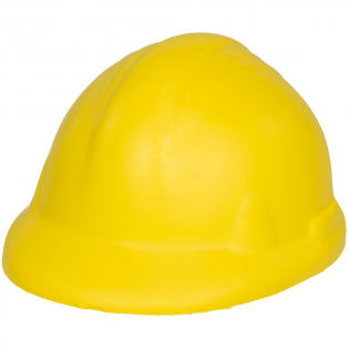 Article antistress en forme de casque de chantier.
