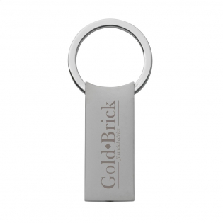 Smart matte metal key ring with rotating click system. Each piece in a box.