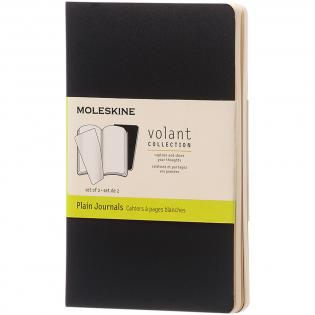 Volant Journal Notizbuch mit Softcover mit abgerundeten Ecken. Enthält 80 70 g/m², elfenbeinfarbene, heraustrennbare, unbedruckte Seiten. Seiten sind auch mit liniertem Papier erhältlich.