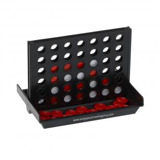 Jeu de stratégie originale dans une version de voyage pratique. Inclus : règles du jeux. Par pièce dans une boîte.