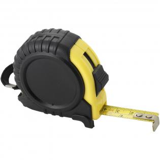 3 meter meetlint inclusief riemclip. Geeft centimeters en inches aan.