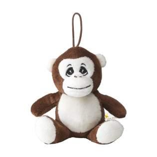 Jouet en peluche de la série Animal Friends. Ce singe est très doux. Avec un museau brodé et une boucle.