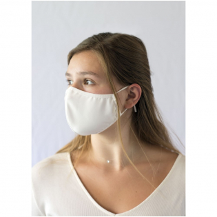 One-layer face mask. Washable at 60 degrees. Use of this mask is exclusively reserved for non-sanitary purposes. This device is not a medical device in the sense of regulation EU/2017/745 (surgical masks) nor is it personal protective equipment in the sense of Regulation EU/2016/425 (such as filtering masks type FFP2 or FFP3). This product is not suitable for medical use and does not protect against infections.
