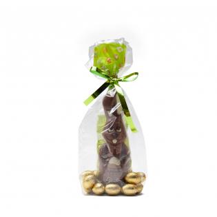 Chocolate Easter Bunny With Belgian Chocolate Eggs
