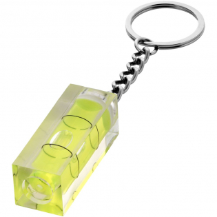 Spirit level key chain.