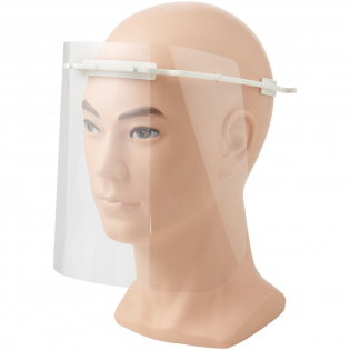 CE certified wraparound face visor. The frame contains Biomaster antimicrobial technology, which provides protection against the growth of harmful micro-organisms. The PET visor clips easily and securely to the frame. Made in the UK. Delivered flatpacked. CE marked in accordance with EU 2016/425.