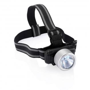 3 LED's en 1 krypton lamp met verstelbare en elastische hoofdband.