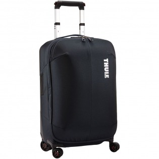 A sleek and durable carry-on spinner with a compression panel to maximize packing space and minimize wrinkling. Complies with carry-on requirements for most airlines.