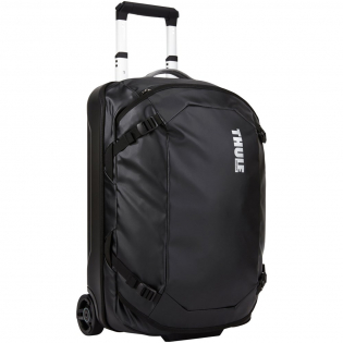 """Weather resistant carry-on designed for short trips and weekends away. The durable tarpaulin fabric protects the contents from the elements. To stay carry-on compliant it should only be packed up to the internal max fill marker. When travelling without bag size requirements an additional 5 cm/2"""" of packing space is available."""