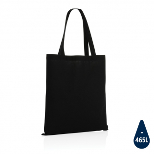 Tell a true story about sustainability and wear it with pride! This versatile 145g cotton totebag is embedded with AWARE™ tracer technology. With AWARE™, the use of genuine recycled fabric materials (70% rcotton and 30% rpet) and water reduction impact claims are guaranteed. Save water and use genuine recycled fabrics. If you choose this item you save 465 litres of water. With the focus on water, 2% of proceeds of each Impact product sold will be donated to Water.org. Water savings are based on figures when compared to conventional fibre. This calculated indication is based on reliable LCA data as published by Textile Exchange in their Material Snapshots 2016.