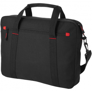 """Functional 15.4"""" laptop bag with padded laptop compartment and adjustable shoulder straps."""