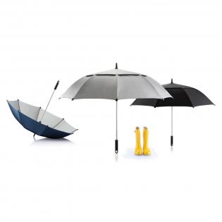 """Le parapluie tempête Hurricane 27"""" à double toile est idéal dans les conditions vraiment difficiles. Il sèche en un rien de temps grâce à sa toile imperméable. Système unique d'ouverture et de fermeture pour un usage simplifié. Modèle déposé®"""