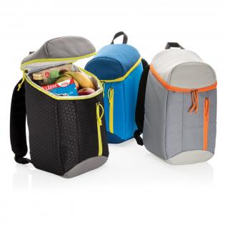 Sac à dos isotherme fonctionnel en polyester 300D vous évite d'avoir à choisir entre un sac à dos et un sac isotherme. Maintenant, vous avez les 2 en 1! Gardez vos aliments et boissons au frais lorsque vous sortez. Le sac à dos contient 10 litres et s'adaptera à tous vos aliments et boissons préférés.