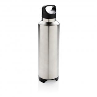 Lekvrije vacuüm fles 304 RVS binnen en 201 RVS buitenkant. Inhoud: 500 ml. Inclusief afneembare luidspreker onderin. BT 4.1 en kan tot op 10 meter afstand worden gebruikt. De 450 mAh poly batterij maakt een speeltijd van maximaal 4 uur mogelijk. Inclusief micro-USB-kabel.