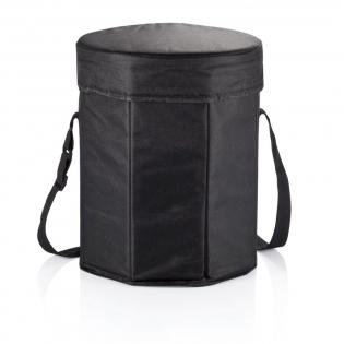 600D opvouwbare koeltas te gebruiken als stoel en koeler.