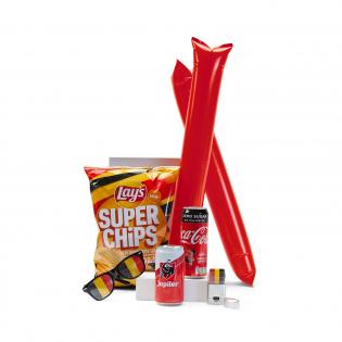 Rode Duivels supporterspakket hand