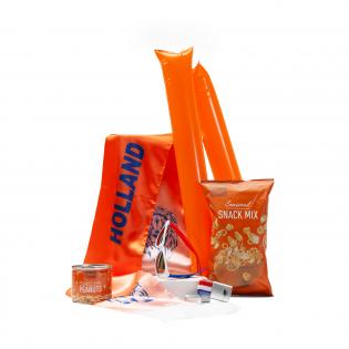Oranje snacks supporterspakket