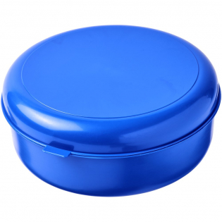 Großer Kunststoffbehälter mit einem Clip-Over-Deckel, der in verschiedenen Farben erhältlich ist.