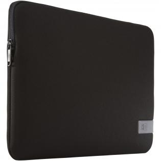 """Housse pour ordinateur portable de 14"""" avec 6mm de mousse à mémoire de forme dense et doublure intérieure molletonnée pour la protection de l'appareil, ainsi qu'un patch réfléchissant au niveau du panneau avant. Garantie Case Logic: 25ans."""