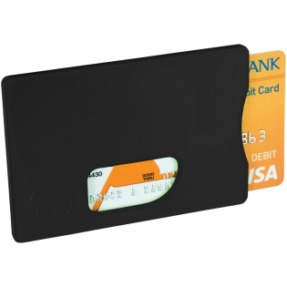 The RFID Credit Card Protector provides you with the perfect defence against payment fraud and identity theft because it has an electromagnet shield. The RFID Card holder is also slim, so you can still keep it in your wallet, purse or pocket. It also offers a large decoration area.