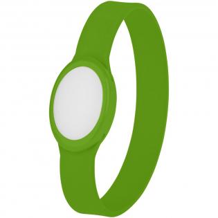 Siliconen armband met meerkleurig knipperend LED licht. Ideaal voor feesten, festivals en 's nachts voor indoor/outdoor evenementen. Inclusief batterijen.