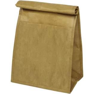 Ce sac a un look papier pour donner l'illusion du sac papier iconique. Compartiment principal avec fermeture Velcro® sur le dessus en roulant le haut du sac.