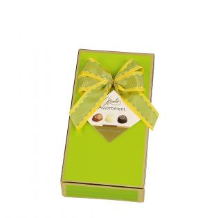 Groene Geschenkdoos Belgische Pralines
