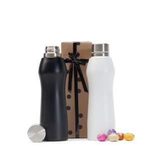 Design Bottle Black or White with Milka Eggs
