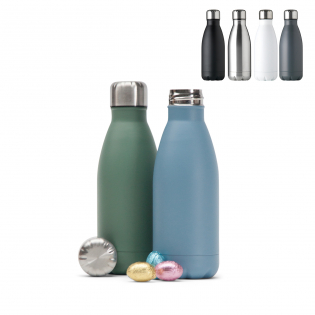 Metal Water Bottle Single Wall 500ml
