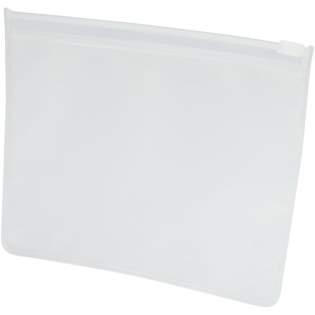 Pochette avec fermeture en plastique pour ranger les masques faciaux en toute sécurité et de façon hygiénique. Idéale pour rangement dans la voiture, dans le sac à main ou dans le sac de travail. Permet de toujours avoir des masques à portée de main.