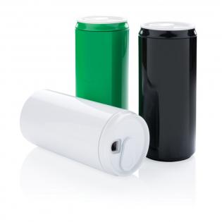 Die Trinkdose (330 ml) besteht zu 100% aus PLA. Somit ist die Dose am Ende Ihres Daseins kompostierbar. Dennoch ist sie spülmaschinenfest und besteht sogar einer Mikrowelle. In schöner Geschenkbox verpackt