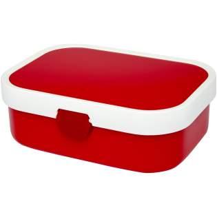 Brotdose mit Einsatz und Gabel. Geeignet für bis zu 4 Butterbrote. Leicht zu öffnen und zu reinigen. Das Fassungsvermögen beträgt 750 ml. Spülmaschinenfest. BPA frei.