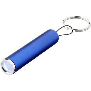Light-up your logo with this on-trend key light. The 1 LED light bulb works on 3x LR41 batteries and produces 3 lumens. A large logo decoration area together with laser engraving will light-up your logo for immediate effect.