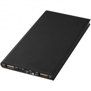De Plate 8000 mAh aluminum powerbank heeft een 8000 mAh Grade A lithium-polymeer batterij en heeft een slank design. De LED-indicator licht op tijdens het opladen en geeft de in de powerbank resterende batterijcapaciteit weer. Het heeft een input en output van 5V/2A en is gemaakt van duurzaam aluminium. Inclusief USB naar Micro USB oplaadkabel. Geleverd in een witte Avenue geschenkverpakking.