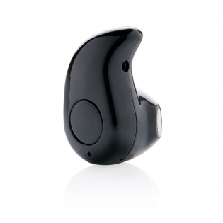 True wireless earbud with built-in microphone. The earbud is suitable for both making phone calls and listening to your favourite music. With one simple click you can choose one or the other. The playing time on a single charge is about 1.5 hours. It takes 1.5 hours to fully recharge the earbud again. With BT 4.1 to guarantee smooth connection and operating distance of 10 metres. Includes micro fibre pouch to carry the item anywhere. ABS plastic material. Includes micro USB cable.