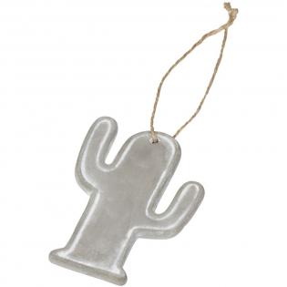 Cactusdecoratie met koord voor gemakkelijk bevestigen. Inclusief een zwarte geschenkverpakking.