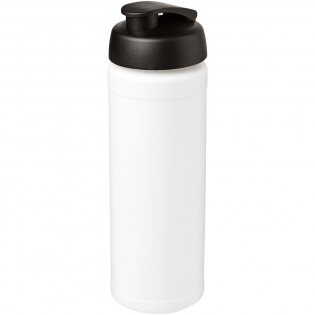 Single-wall sport bottle with integrated finger grip design. Features a spill-proof lid with flip top. Volume capacity is 750 ml. Mix and match colours to create your perfect bottle. Contact customer service for additional colour options. Made in the UK.