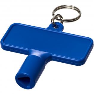 Deze kunststof driehoek sleutel (8mm) word ook wel de palen sleutel genoemd. De driekant sleutel word veel gebruikt voor het openen van universele sloten en verkeers palen welke in diverse situaties worden toegepast. Ook voor het openen van uw buitenkraan en diverse afval containers is deze driehoek sleutel onmisbaar aan je sleutelbos, in je gereedschapskist of in de auto.