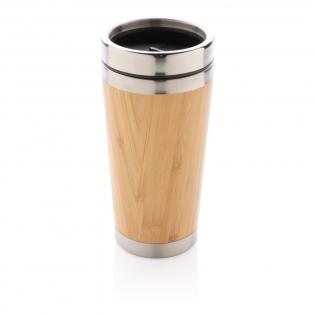 Dieser trendige Becher verfügt über Innenwände aus 304 Stainless Steel und Außenwände aus organischem Bambus. Hält Ihre Getränke bis zu 3h warm und bis zu 6h kühl. Inhalt: 450ml. Nur Handwäsche.