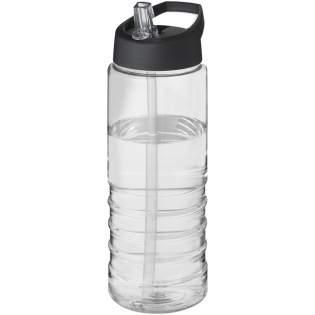 Einwandige Sportflasche mit geripptem Design. Verfügt über einen auslaufsicheren Deckel zum Klappen Das Fassungsvermögen beträgt 750 ml. Mischen und kombinieren Sie Farben, um Ihre perfekte Flasche zu kreieren. Kontaktieren Sie uns bezüglich weiterer Farboptionen. Hergestellt in Großbritannien. Verpackt in einem kompostierbaren Beutel.