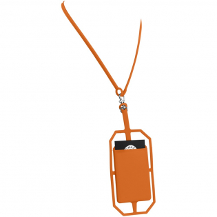 This silicone holder wraps around the corners of most phones even with cases on. Perfect to put your ID cards, room keys, cash or credit cards inside. The additional RFID protector function will protect valuable information stored on RFID chips of credit cards from unauthorized scans or unwanted readers.