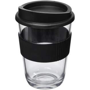 Duurzame enkelwandige beker met drukdeksel en siliconen grip. De beker heeft een glasachtige uitstraling met uitzonderlijke helderheid. Compatibel met EN12875-1, vaatwasmachinebestendig en magnetronbestendig. Volumecapaciteit is 300 ml. Mix en match kleuren om je perfecte mok te creëren. Neem contact op met ons voor meer kleuropties. Gemaakt in het Verenigd Koninkrijk. Verpakt in een thuis-composteerbare polybag.