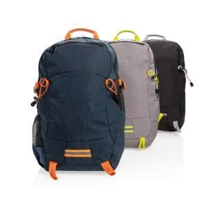 """Dieser große und vielseitige Two-Tone Rucksack aus Polyester hat ein geräumiges Hauptfach und lässt sich somit perfekt für die Arbeit, die Schule oder den Sport packen. Mit einem 15.6"""" Laptopfach, 2 seitlichen Netztaschen, Brustgurt und RFID-Fächern im Inneren, sowie Rückenpolster und Netz-Schultergurten. PVC-frei"""