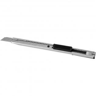 Roestvrijstalen snijmes met fijn lemmet en achterzijde met clip-on. Het lemmet is eenvoudig te verwisselen door de dop te verwijderen.