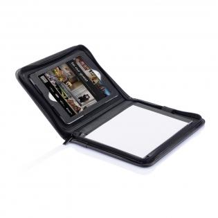 Support pour iPad Mini en PU avec un étonnant mécanisme rotatif permettant un usage facilité de votre iPad Mini où que vous alliez.