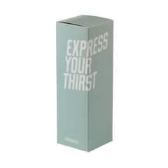 Geschenkbox aus Kambukka-Pappe. Geeignet für verschiedene Kambukka Thermotassen mit einem Fassungsvermögen von bis zu 500 ml.