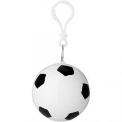 Poncho in Einheitsgröße (90 x 120 cm) mit Kapuze für unerwartete Regengüsse. In praktischer, kompakter Kugel mit Fußballdruck, die an einen Schlüsselanhänger gehängt werden kann. Passt in eine kleine Tasche und ist eine großartige Ergänzung für Taschen oder Trinkgefäße. Werbeanbringung nur auf dem Behälter.