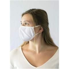 Einlagige Gesichtsmaske. Waschbar bei 60 Grad. Die Verwendung dieser Maske ist ausschließlich für nicht-medizinische Zwecke geeignet. Dieses Produkt ist kein Medizinprodukt im Sinne der Verordnung EU/2017/745 (chirurgische Masken) und auch keine persönliche Schutzausrüstung im Sinne der Verordnung EU/2016/425 (z. B. Filtermasken vom Typ FFP2 oder FFP3). Dieses Produkt ist nicht für medizinische Zwecke geeignet und schützt nicht vor Infektionen.